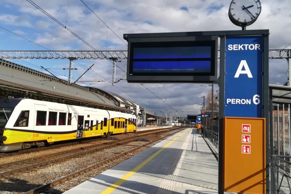 Nowy peron i ułatwienia dla pasażerów na wrocławskim dworcu