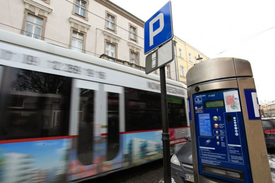 Strefa płatnego parkowania do końca marca będzie w Krakowie bezpłatna