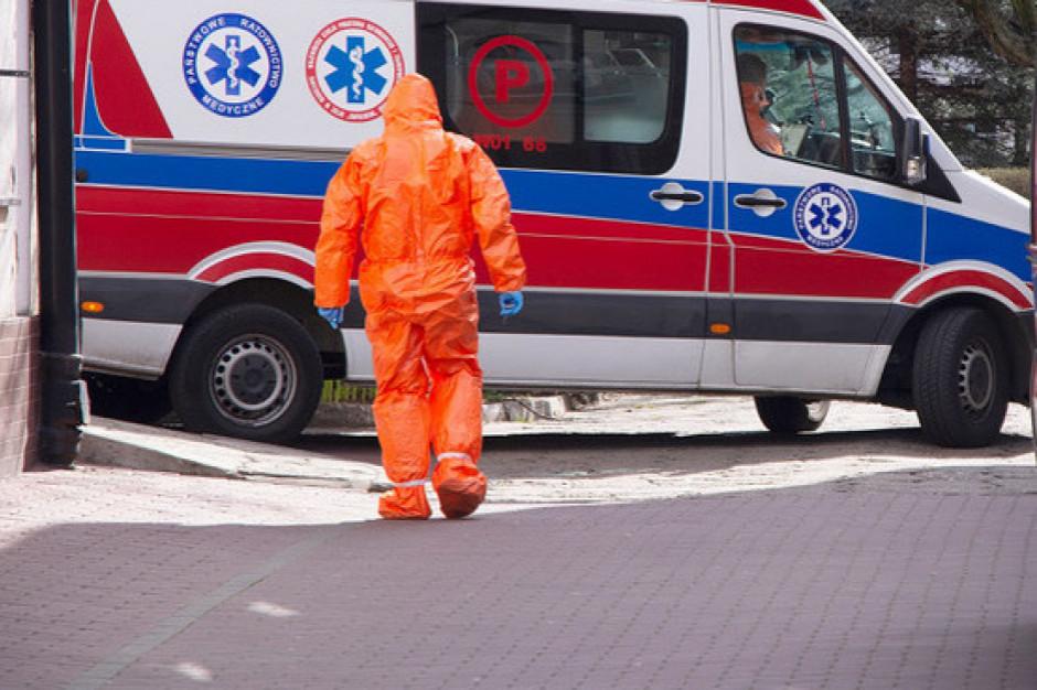 Pacjent z objawami koronawirusa uciekł ze szpitala w Zgierzu, szuka go policja