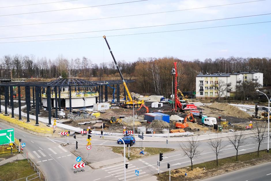 Katowice: Utrudnienia przy budowie węzła tras nr 86 i 81 oraz węzła Brynów