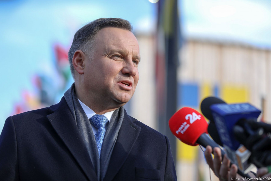Prezydent Duda: jesteśmy solidarni ze Śląskiem
