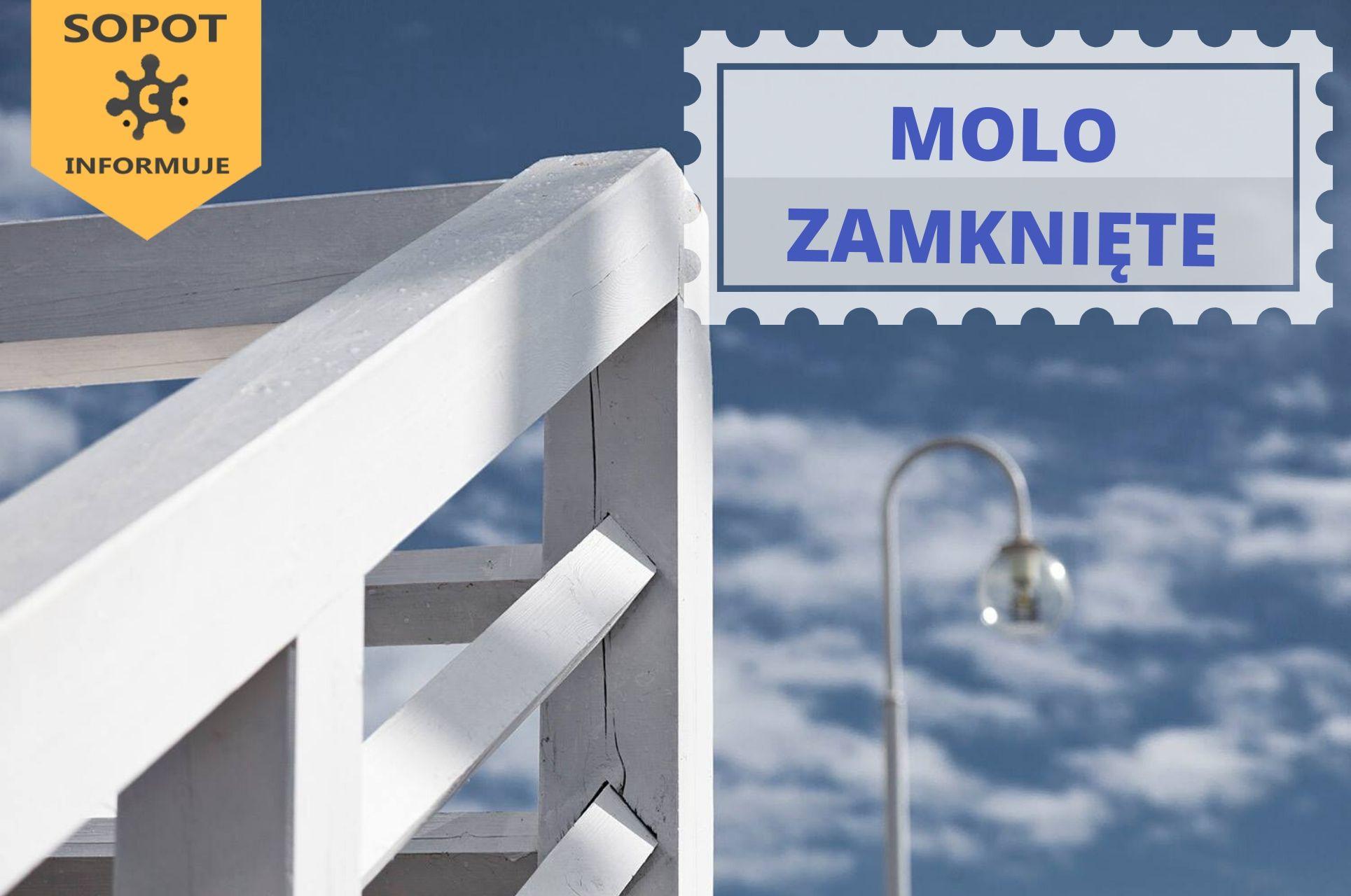 Od 26 marca molo w Sopocie będzie zamknięte (fot. sopot.pl)