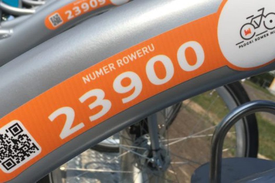 W Płocku rusza rower miejski - dezynfekowany