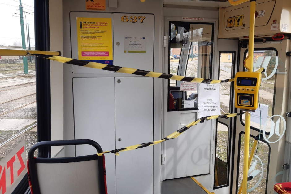Tramwaje Śląskie ostrzegają: motorniczy może nie otwierać drzwi