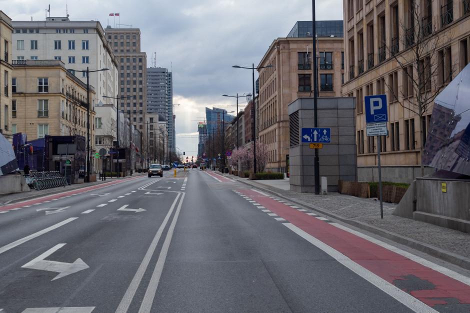 Taka była Warszawa w lutym. Dziś nic już nie wygląda tak samo