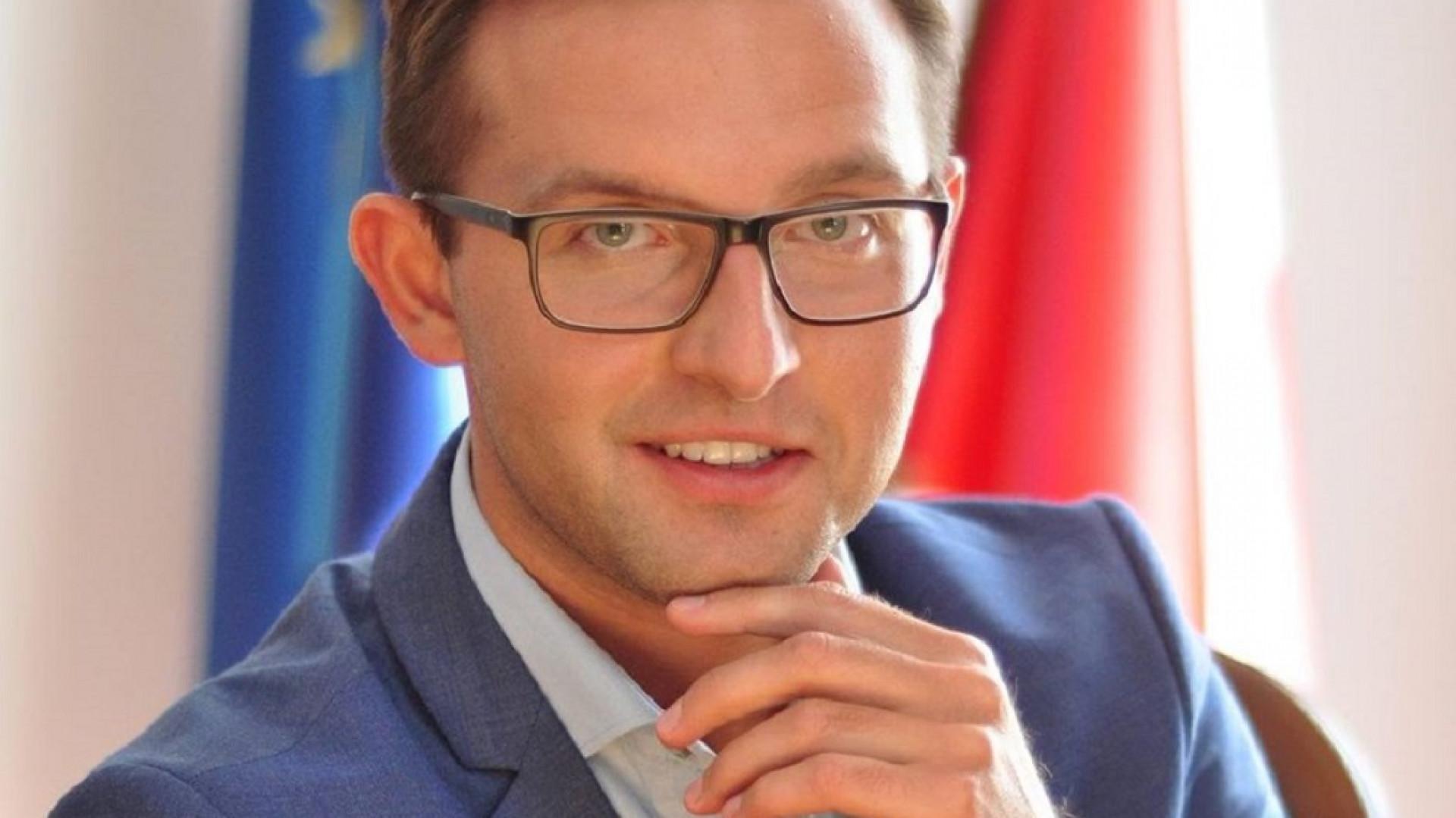 Prezydent Ciechanowa Krzysztof Kosiński (Fot. Krzysztof Kosiński/FB)