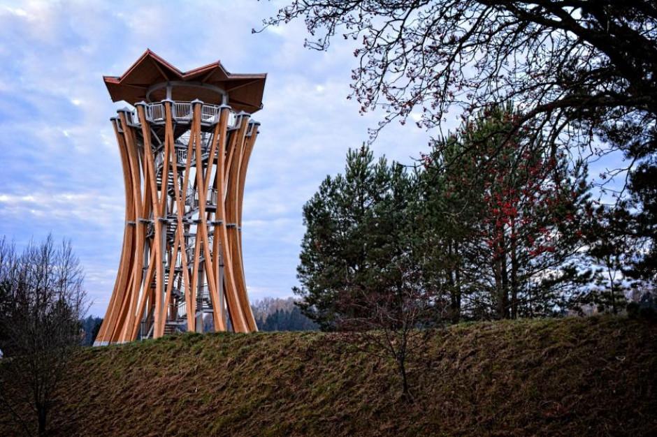 Warmińsko-mazurskie: Otwarto wieże widokowe w Stańczykach i Pobłędziu
