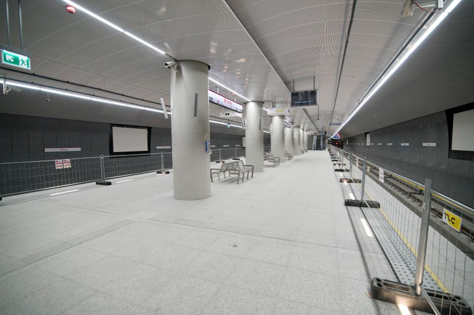 Warszawa: Jest pozwolenie na użytkowanie trzech wolskich stacji II linii metra
