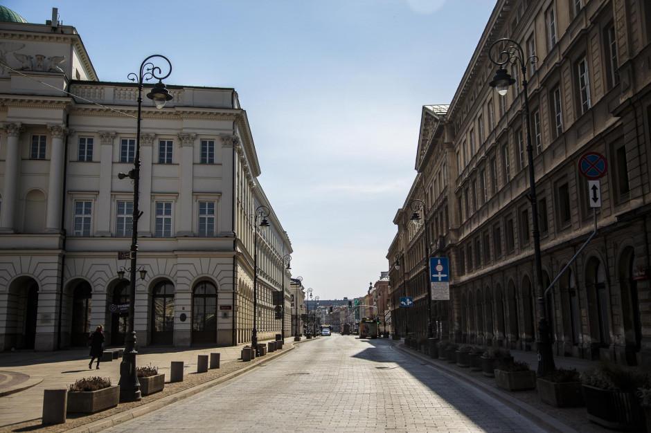 Stolica rozpoczyna dezynfekcję ulic