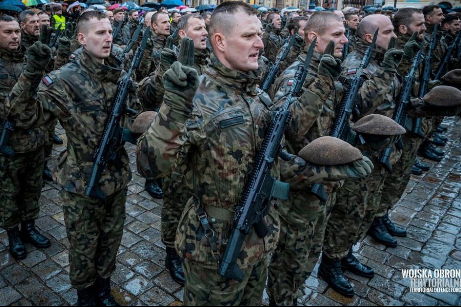 Epidemia nie zniechęca do służby w Wojskach Obrony Terytorialnej