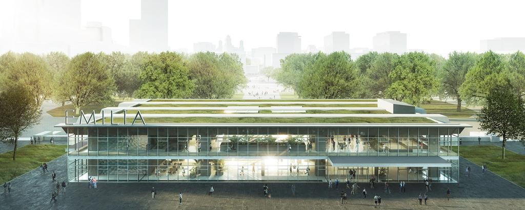 Nowa Emilia to trzykondygnacyjny budynek, o łącznej powierzchni nieco ponad 7000 mkw (fot. UMW)