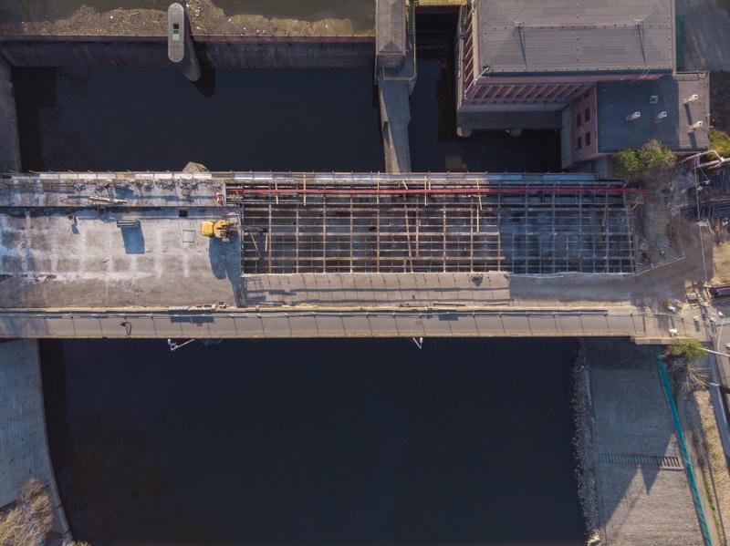 Most Północny z lotu ptaka (fot. UMW)