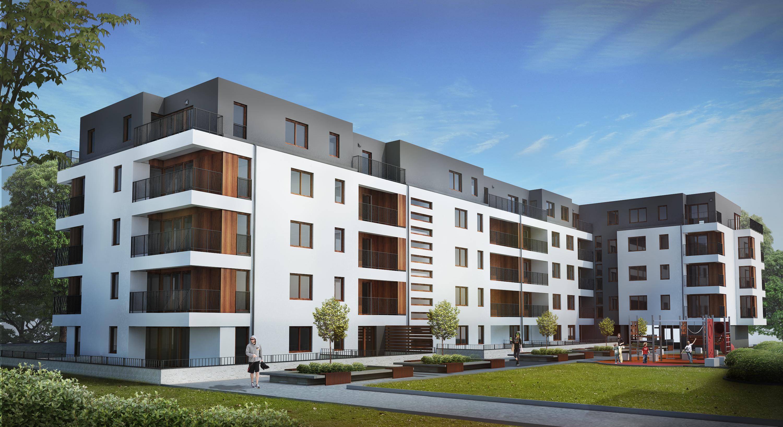 Tak będą wyglądały bloki przy ul. Klonowej w Mińsku Mazowieckim (fot. mat. pras. PFR Nieruchomości)