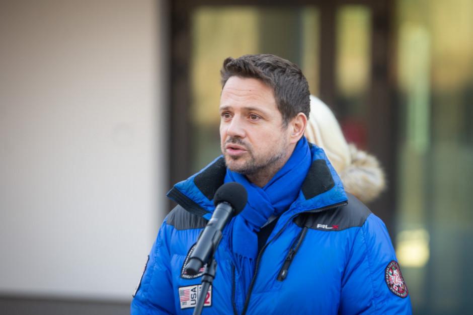 Rafał Trzaskowski zapowiada jakie inwestycje będą w Warszawie realizowane