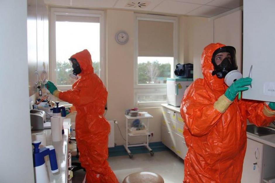 Wojska chemiczne wspierają walkę z koronawirusem