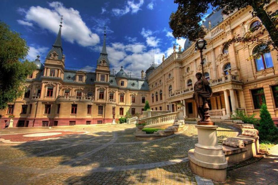Łódź: Trwa remont Pałacu Poznańskich
