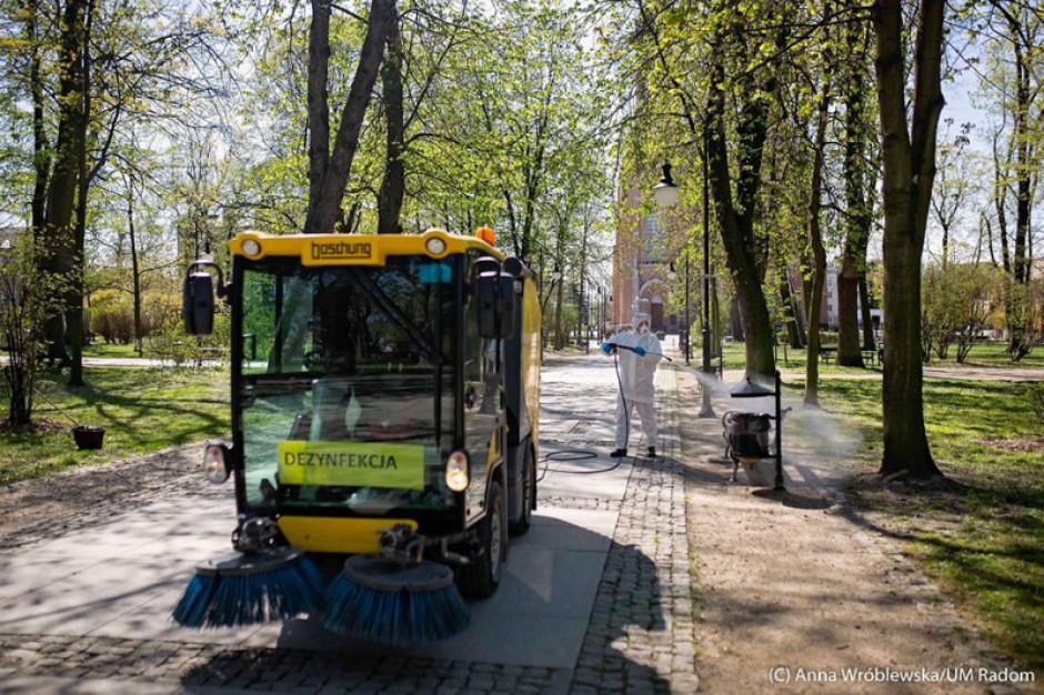Wszystkie parki i skwery w Radomiu zostały odkażone