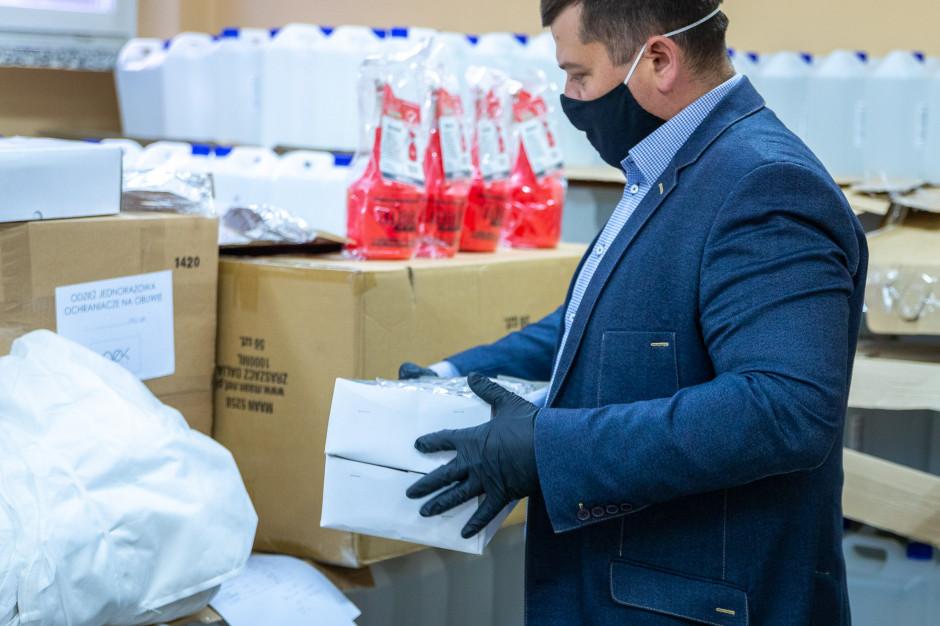 Gorzowski samorząd przeznaczył 1,25 mln zł na walkę z koronawirusem