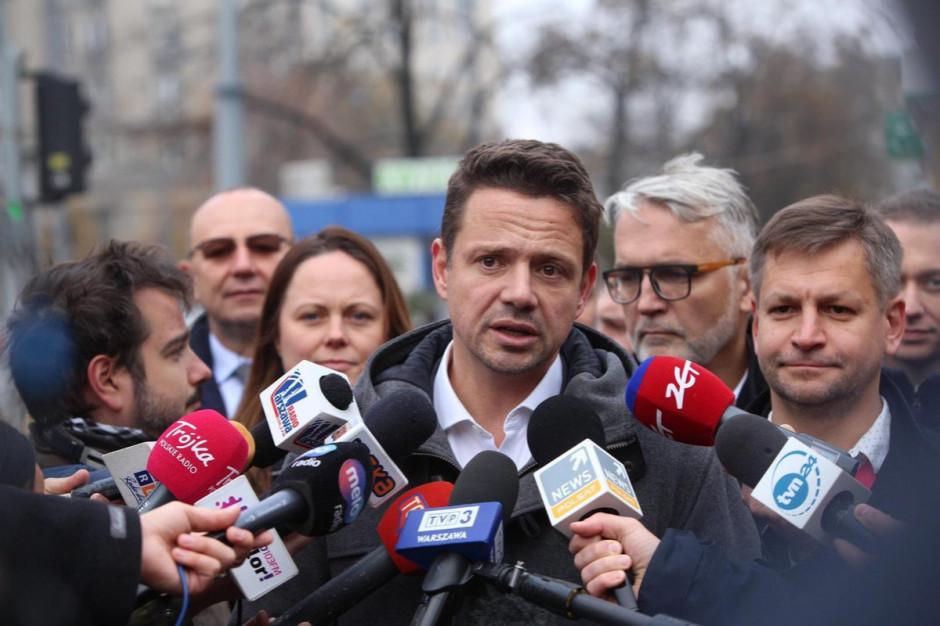 Rafał Trzaskowski zawiadomił prokuraturę w sprawie maila Poczty Polskiej