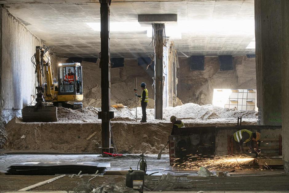 Metro na Bródnie: tarcze drążące gotowe do pracy