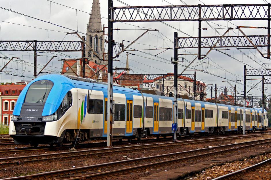 Po blokadzie drogi Koleje Śląskie wydłużają pociągi z Tychów