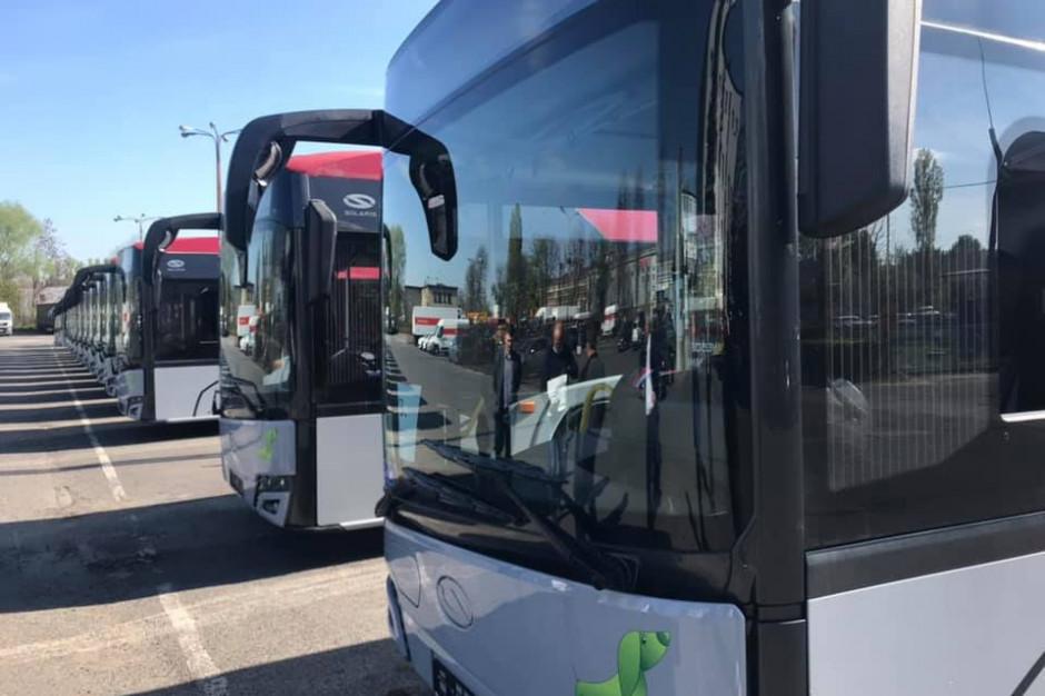 Śląskie: 13 nowych autobusów zasiliło flotę Komunikacji Beskidzkiej