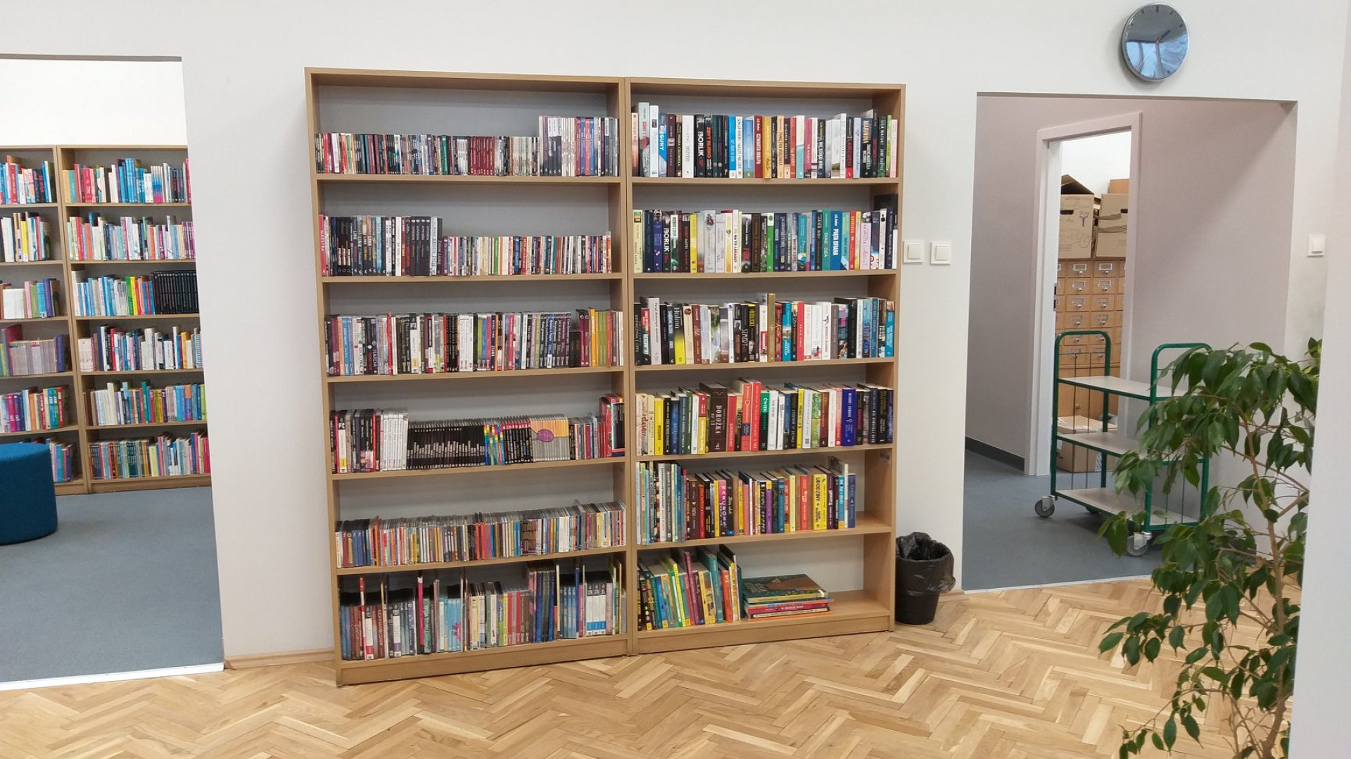 Dostęp do półek z książkami będą mieli wyłącznie pracownicy bibliotek (fot. Biblioteka Raczyńskich FB)
