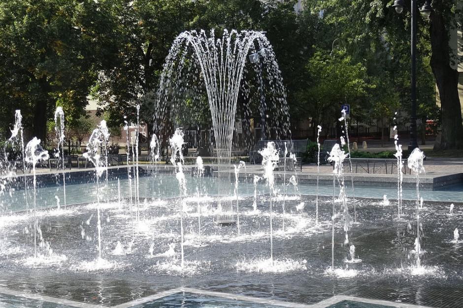 Bydgoszcz: miejskie fontanny nieczynne z powodu epidemii
