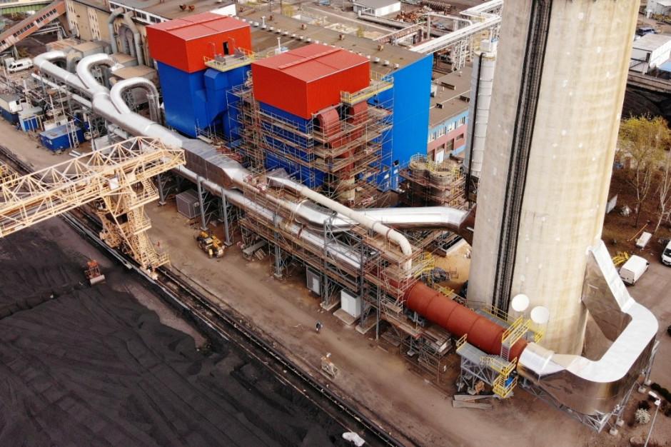 Polkowice: W elektrociepłowni instalacja ograniczająca emisję zanieczyszczeń