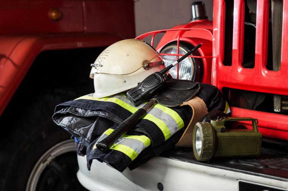 Resort klimatu dofinansuje zakup sprzętu dla strażaków