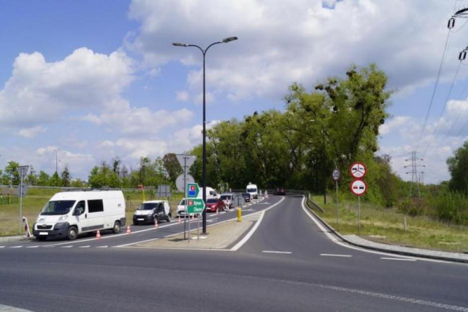 Gliwice poszerzyły przejazd przez węzeł drogi nr 88 i DTŚ