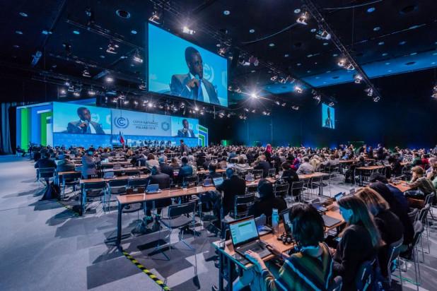 W MCK i Spodku zorganizowano Konferencje COP24 (fot. PTWP)