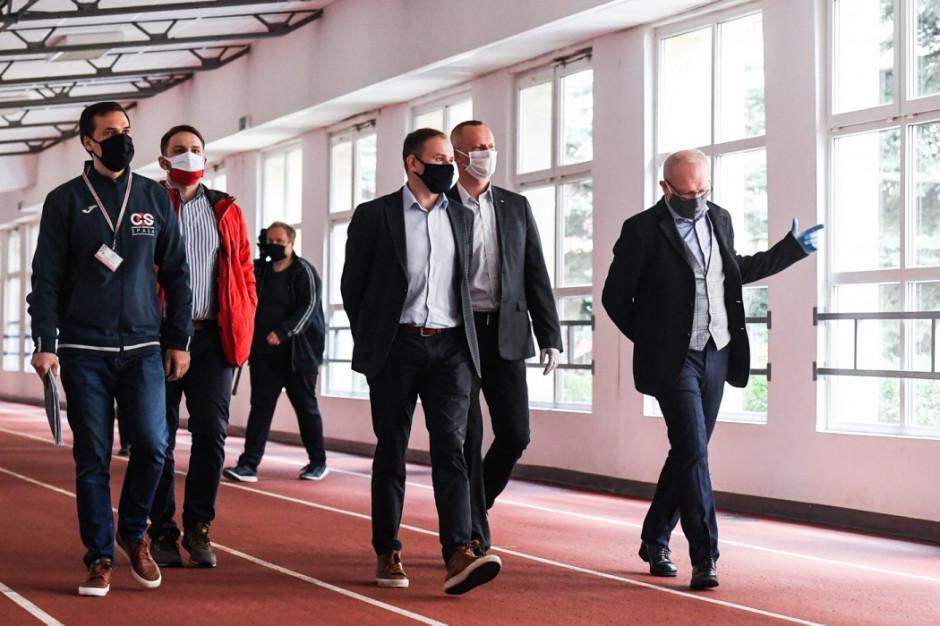 Łódzkie: Sportowcy wracają do treningów w COS w Spale