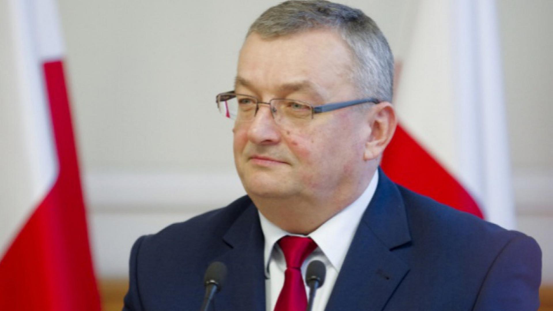 Minister infrastruktury Andrzej Adamczyk (fot.PTWP)
