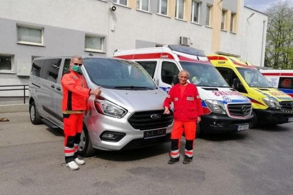 Mazowieckie szpitale dostały środki ochrony z Pekinu