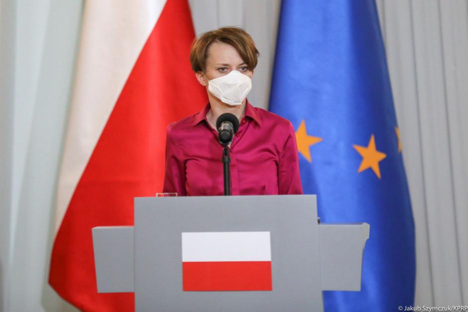 Emilewicz apeluje do marszałka Senatu o podjęcie prac nad ustawą ws. wyborów