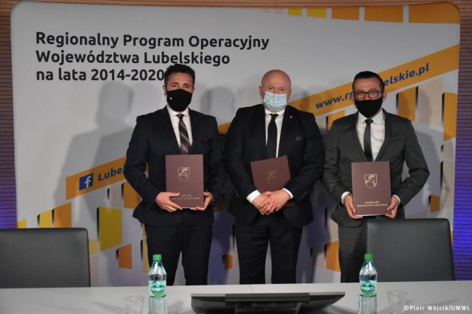 Lubelskie: 47 mln zł na rewitalizację Zamościa i Białej Podlaskiej
