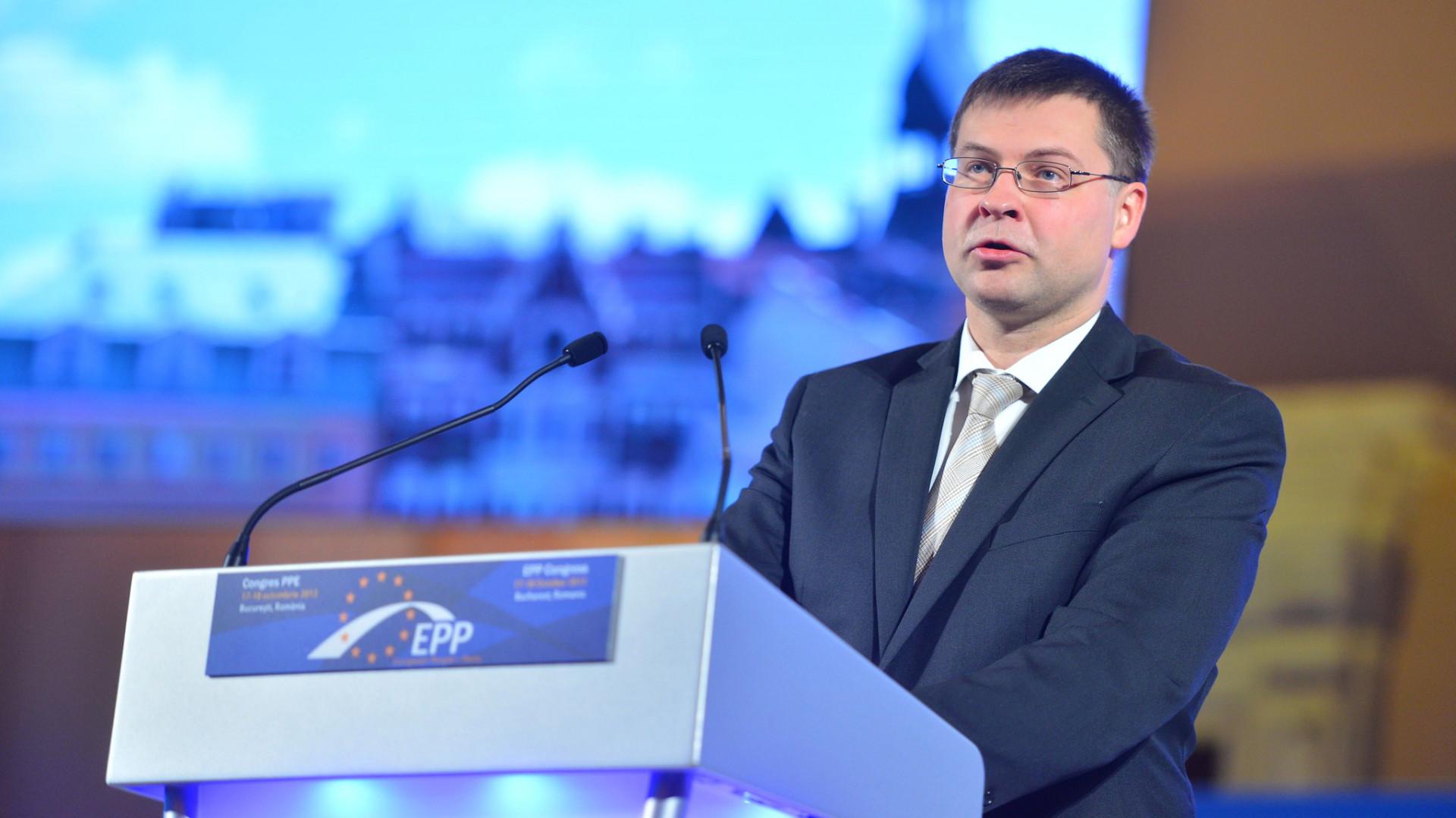 Valdis Dombrovskis (fot. flickr.com/eppofficial)
