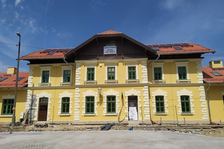 Skawina: Zabytkowy dworzec PKP wyremontowany