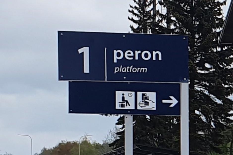 Na stacji PKP w Trzebinii wyremontowano peron