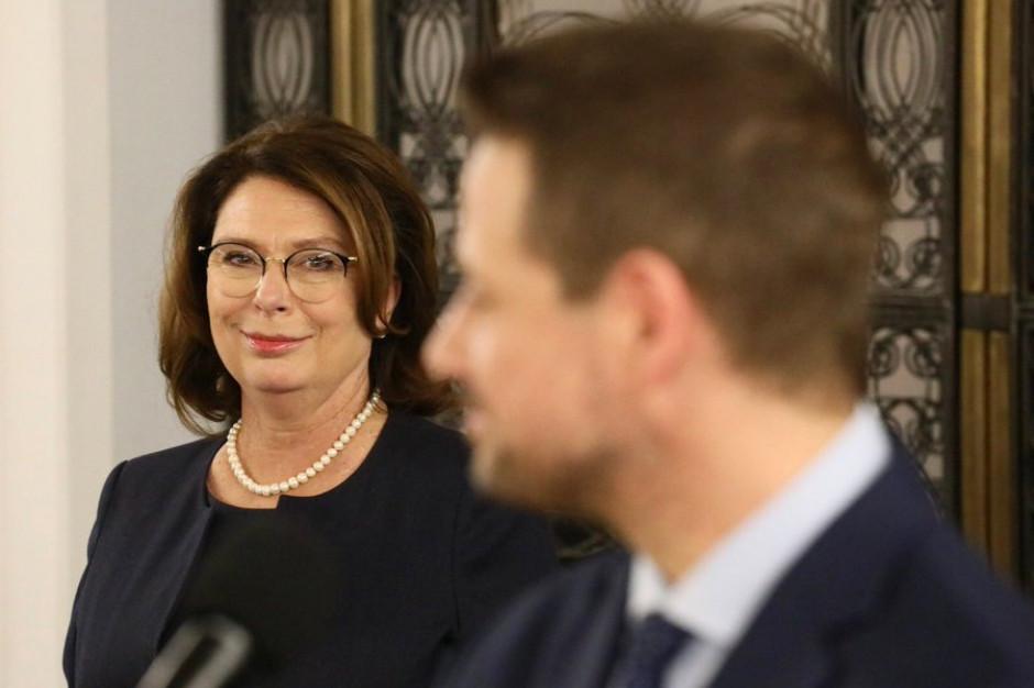 Gronkiewicz-Waltz: Kidawa-Błońska byłaby takim prezydentem Warszawy, który nie musi się jej uczyć