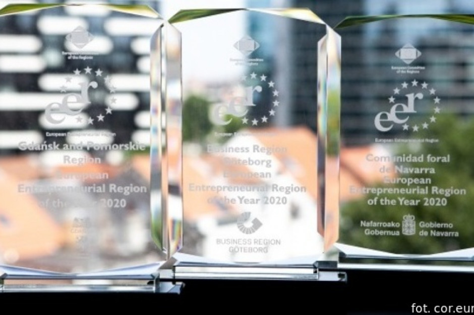 Unia nagrodzi europejski region przedsiębiorczości