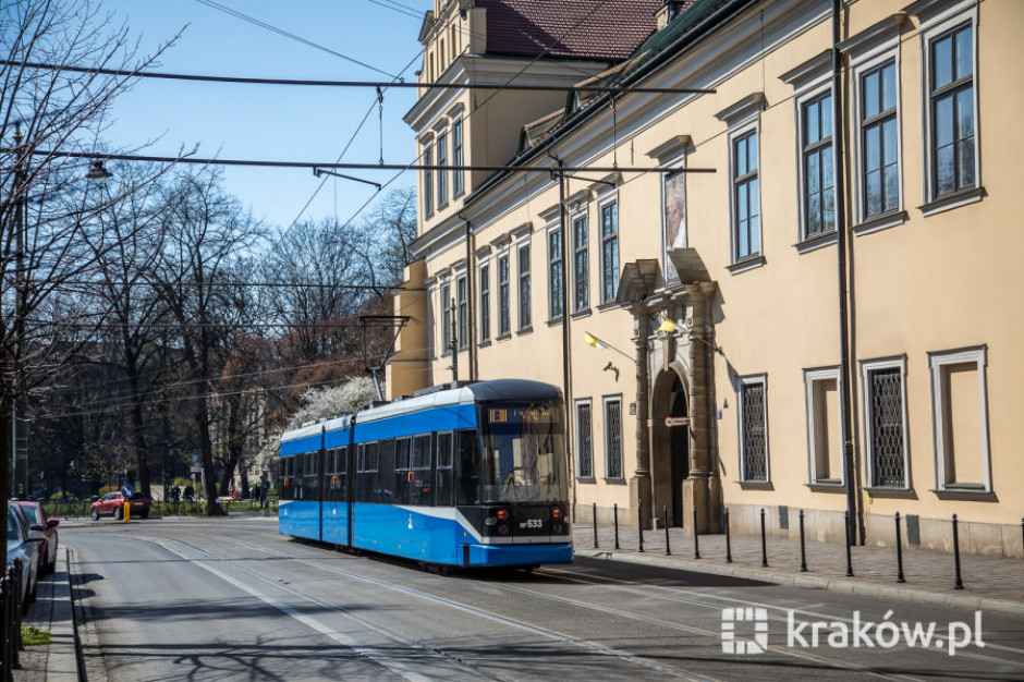 Budowa linii tramwajowej w Krakowie przy wsparciu EBI
