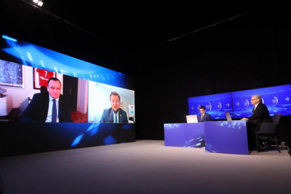 O samorządowych inwestycjach i finansach podczas Europejskiego Kongresu Gospodarczego online