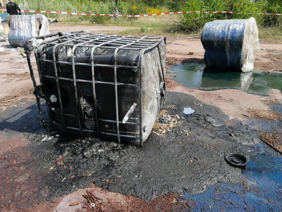 Warszawski inspektor WIOŚ w ostatnich dniach stwierdził obecność porzuconych odpadów w trzech nielegalnych składowiskach (fot wios)