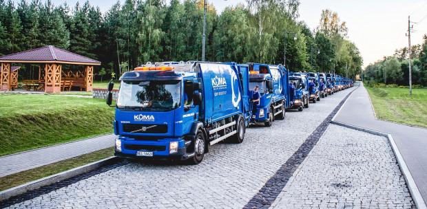 Wizytówką firmy są śmieciarki, produkowane w spółce-córce Comeco (fot. mat. prasowe)
