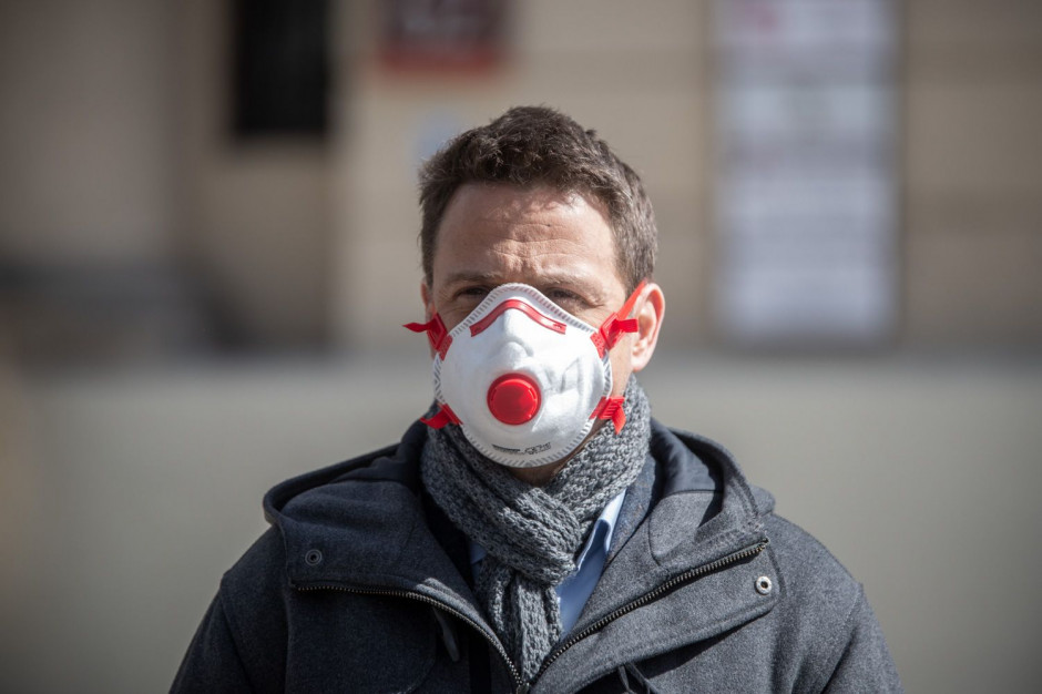 Trzaskowski zapowiada przygotowanie białej księgi epidemii koronawirusa
