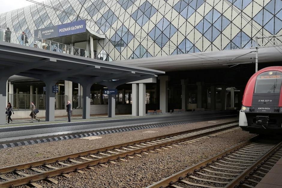 Nowy peron i wyremontowane przejście podziemne na dworcu w Poznaniu