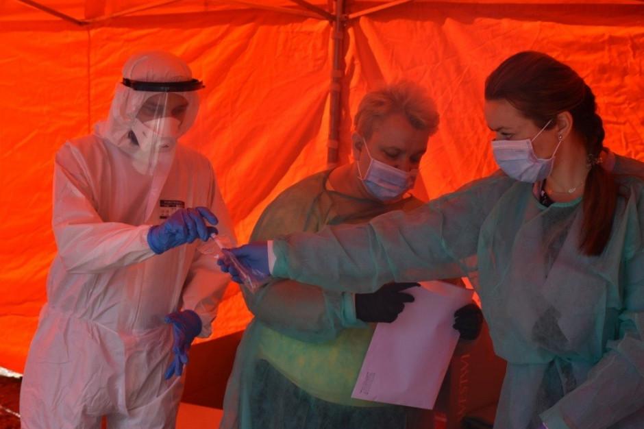 Powiat będziński: Nauczyciele testowani na obecność koronawirusa