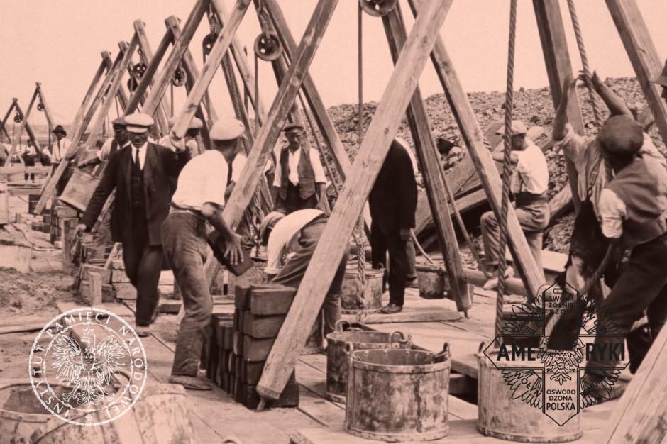 Film z budowy łódzkich kanałów odnaleziony w amerykańskich archiwach